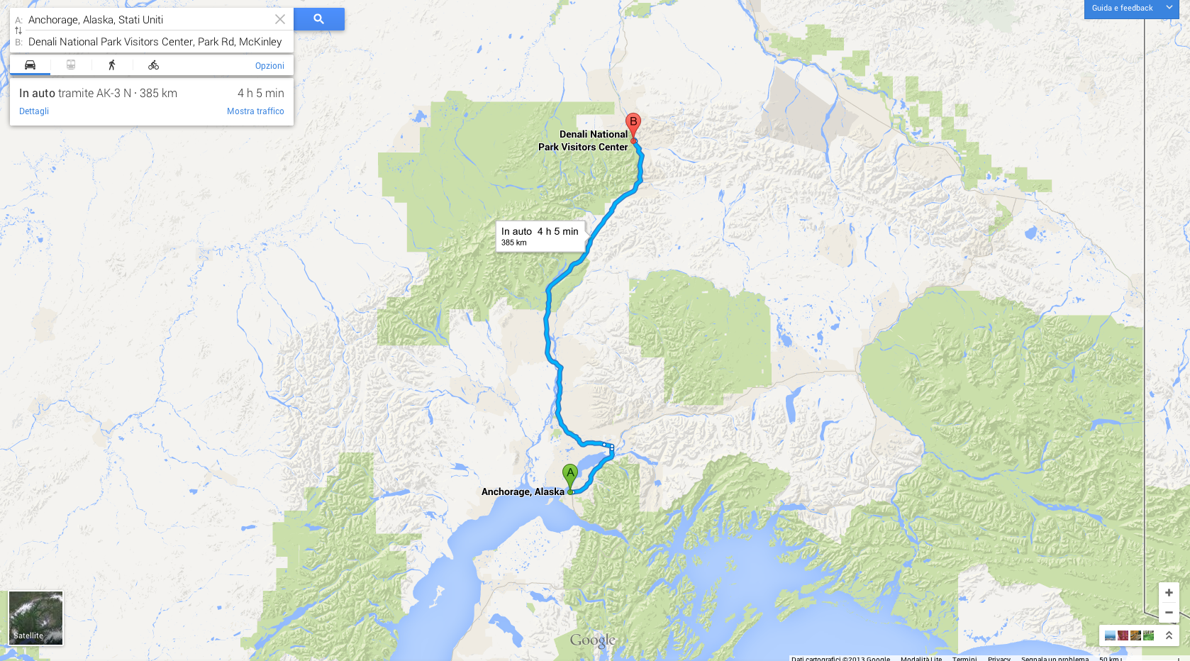 Anchorage-Denali